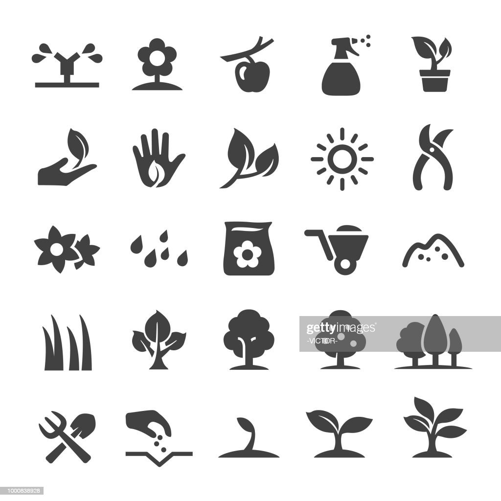 Growing Icons - Smart Series : stock illustration