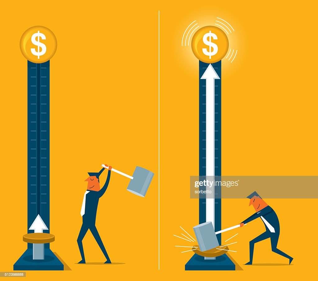 Growing Money : stock illustration