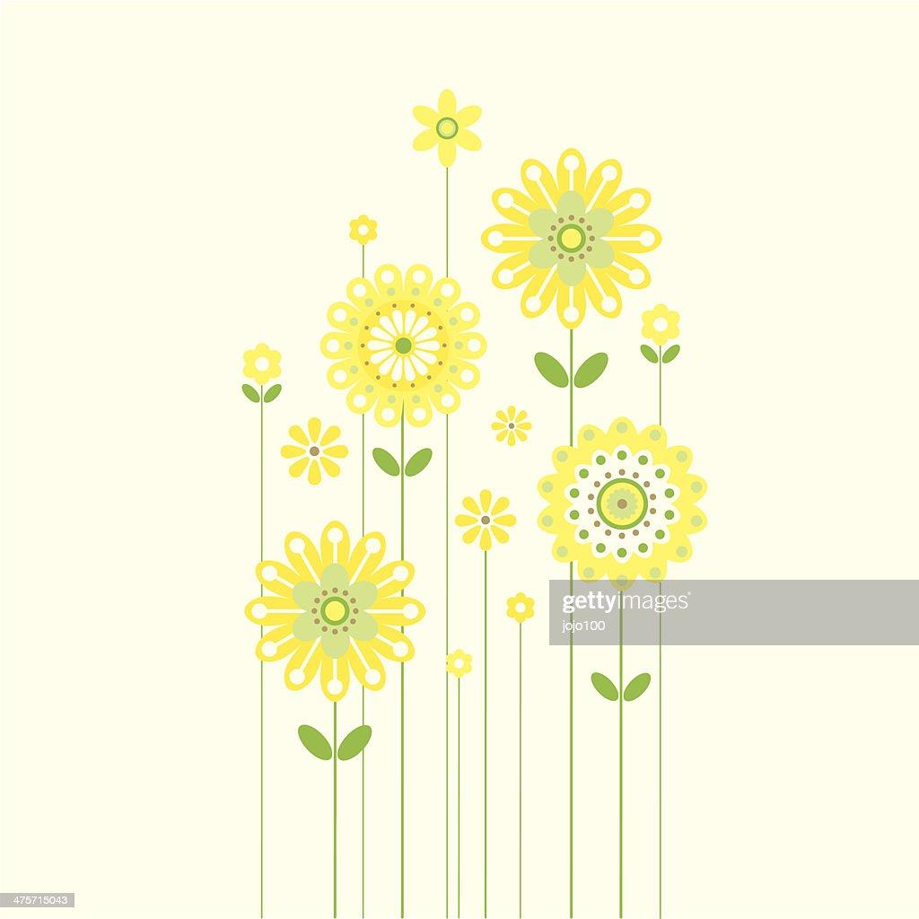 Growing Retro Spring Flowers