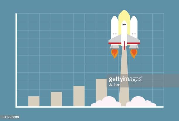Growing rocket