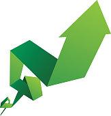 Growth arrow