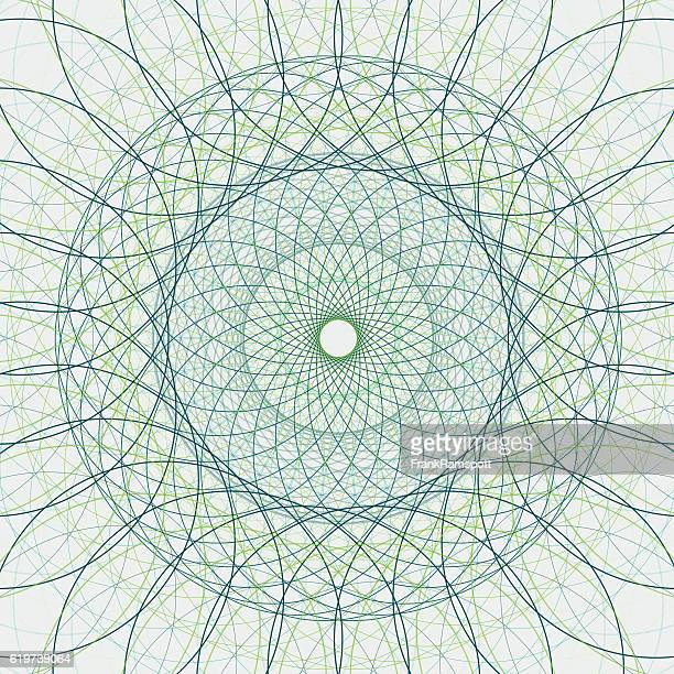 Growth Concentric Circle Vector Graphic
