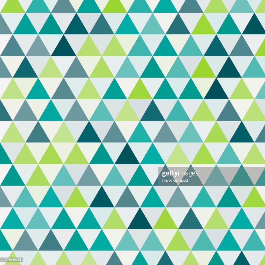 Gleichseitiges Dreieck Vektor Wachstumsmuster : Vektorgrafik