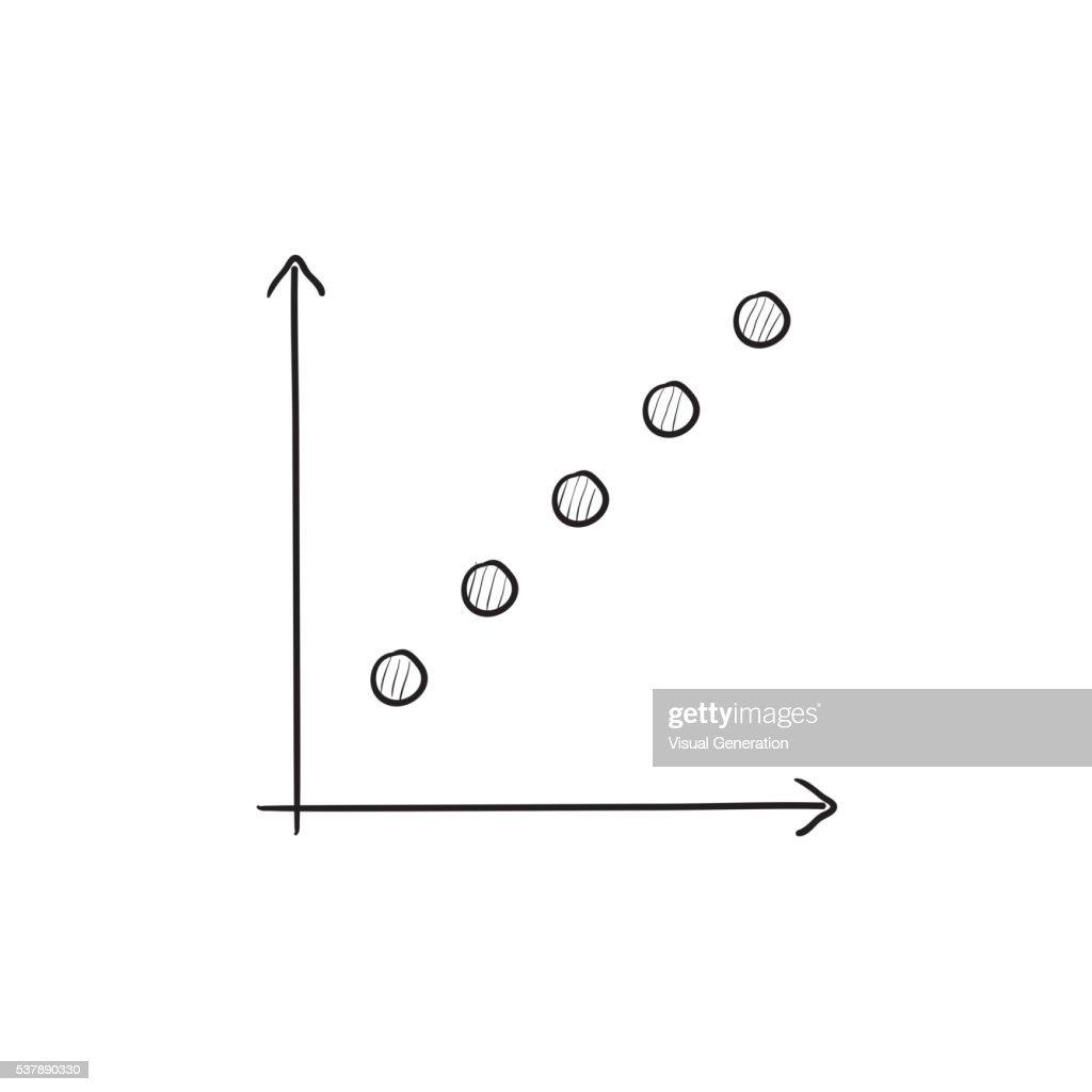 Wachstum Diagramm Skizzesymbol Vektorgrafik | Getty Images