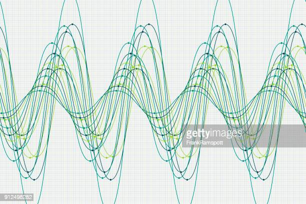 Nature sine wave line pattern horizontal vector art getty images keywords ccuart Choice Image