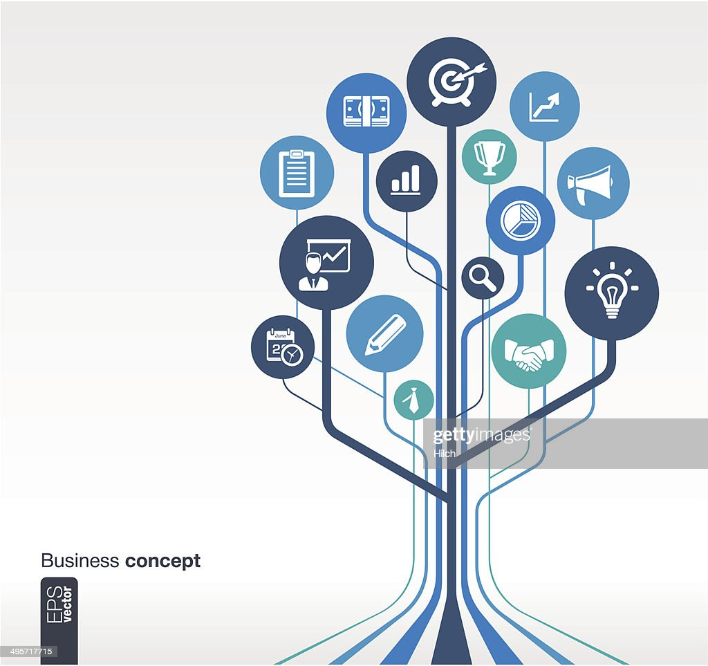 Growth tree concept for business