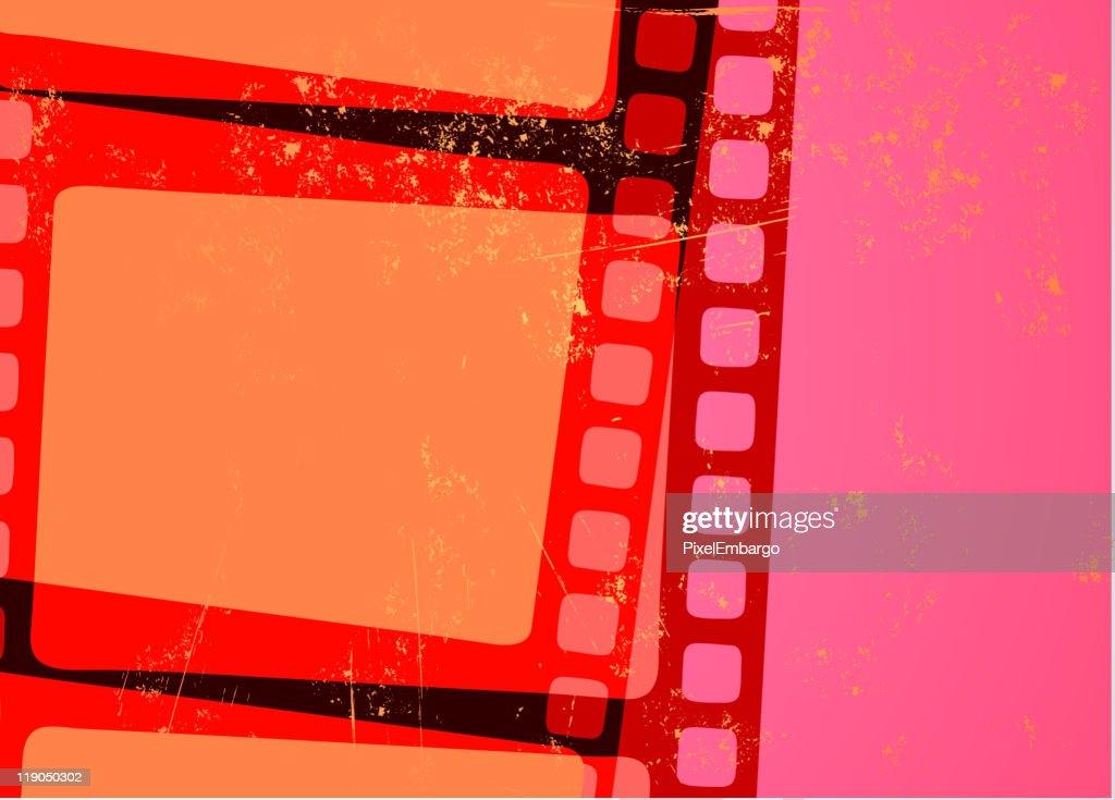 Grunge Abstract cinema background