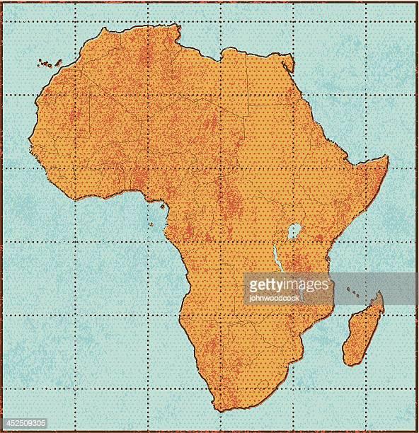 ilustrações, clipart, desenhos animados e ícones de mapa de grunge áfrica - libéria