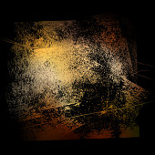 grunge background 02 yellow-black 02