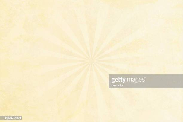 grunge background beige sunburst stock vector illustration - papyrus paper stock illustrations