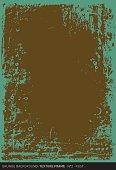 Grunge background: Rust (Textured frame n°2)