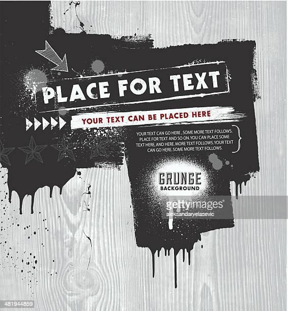 grunge background - image technique stock illustrations