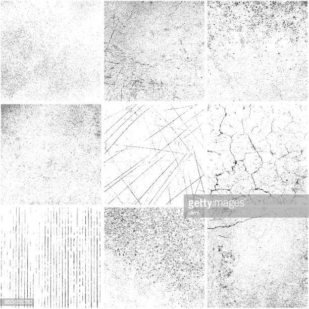 grunge backgrounds - crumpled stock illustrations