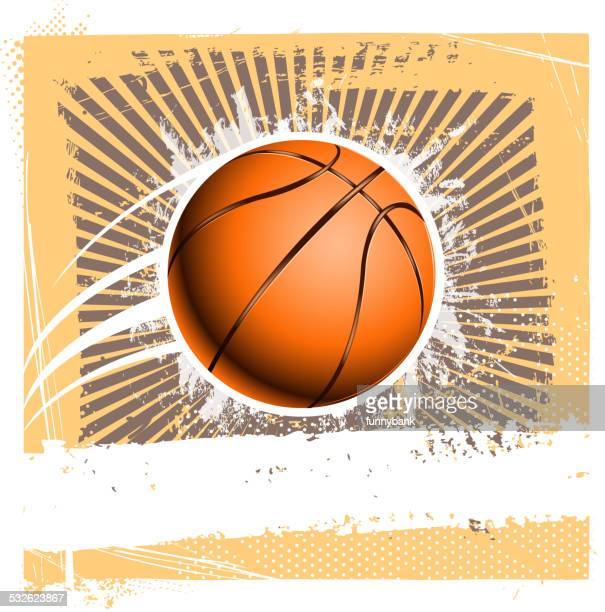 grunge basketball background - 2015 stock illustrations, clip art, cartoons, & icons
