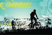 Grunge bikers