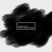 grunge black color paint