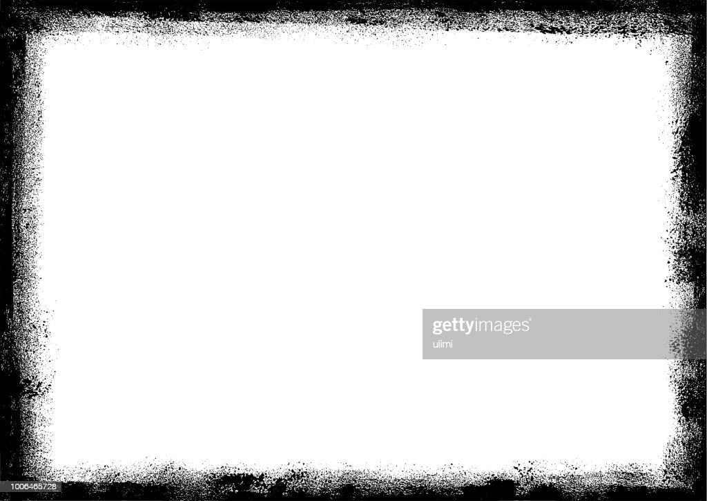 グランジの境界線フレーム : ストックイラストレーション