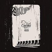 Grunge Cinema Poster