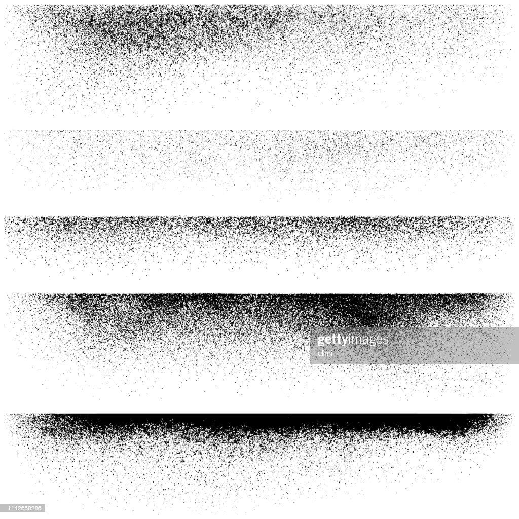 グランジデザイン要素、テクスチャエッジ : ストックイラストレーション