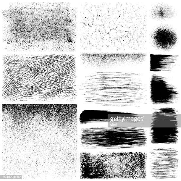 grunge-elementen - schlamm stock-grafiken, -clipart, -cartoons und -symbole