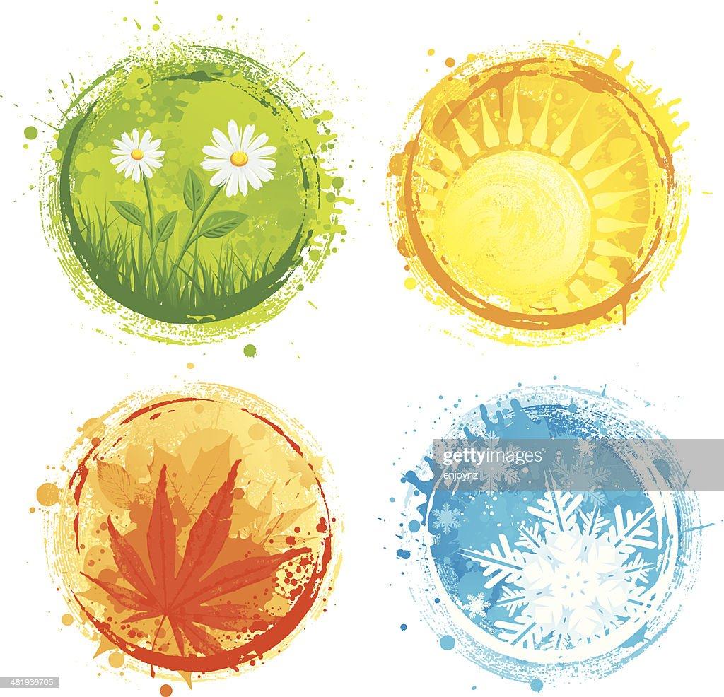 Grunge four seasons