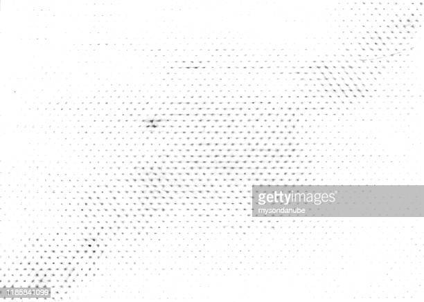 grunge halftone texture background. monochrome abstract vector overlay - spotted stock illustrations