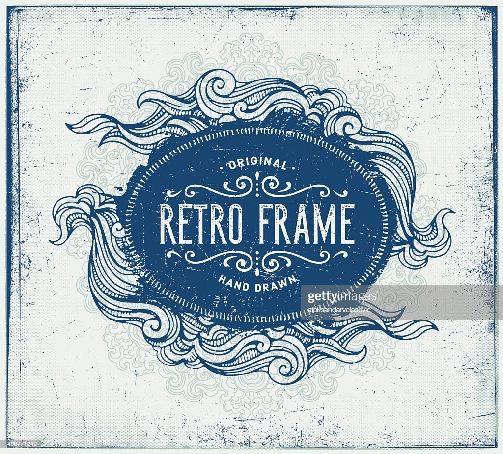 Grunge Hand Drawn Frame