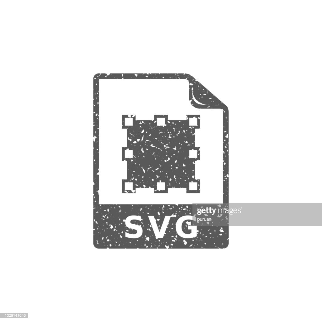 Grunge icon - SVG file