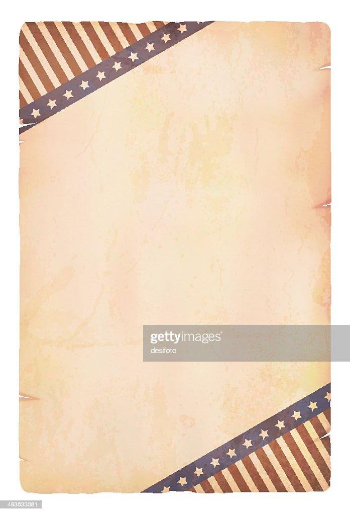 Grunge patriotic Paper
