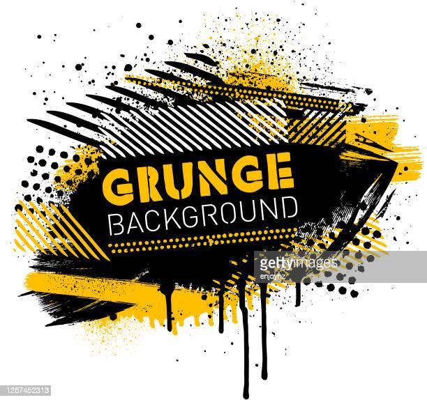 grunge poster background vector - grunge image technique stock illustrations