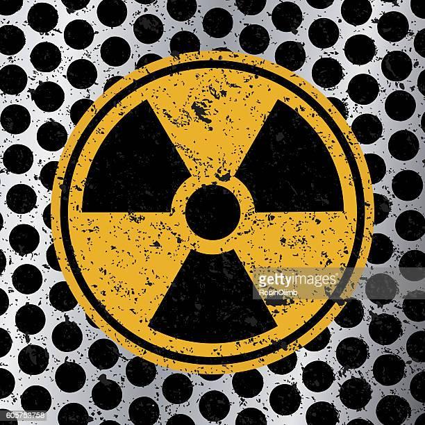 Grunge Radation Icon