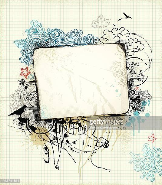 Grunge Sketch Banner