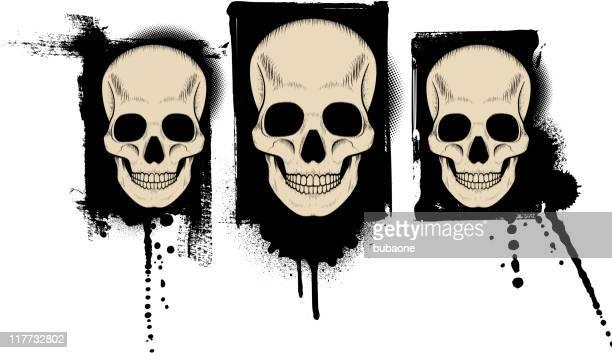 Cráneos de Grunge
