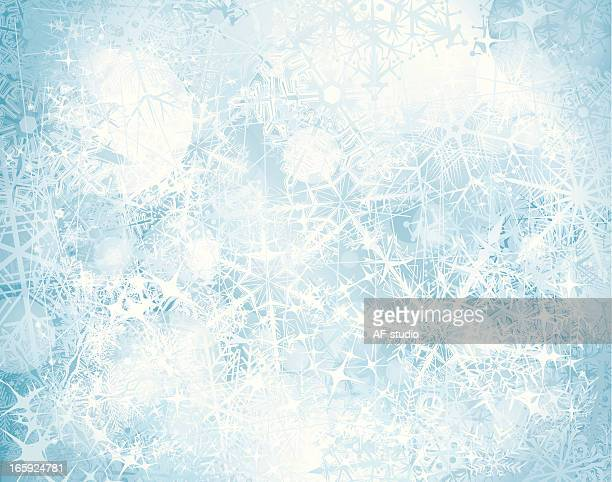 grunge snowy background - frost stock illustrations, clip art, cartoons, & icons