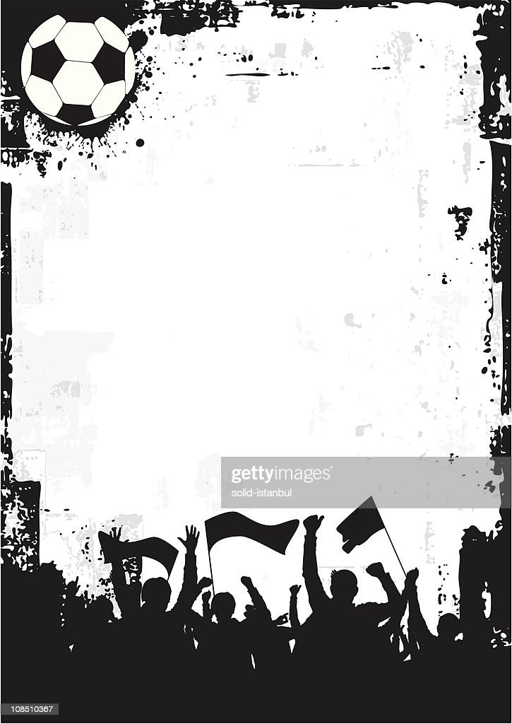 Grunge Soccer Background 1