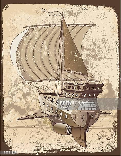 Grunge-Spaceboat