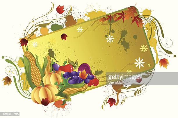 grunge thanksgiving background - common beet stock illustrations, clip art, cartoons, & icons