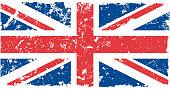 grunge vector united kingdom flag