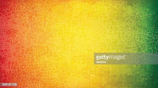 Grunge vector background with colors of flags of: Bolivia