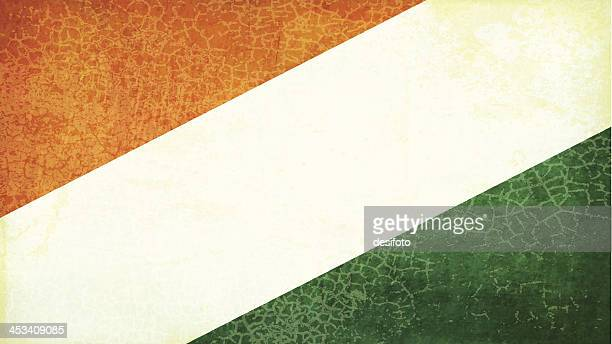 Grunge vector background with colors of similar flags