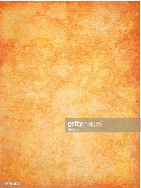 A grunge vector background with oranges and yellows
