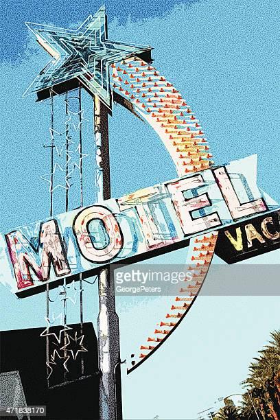 Grunge Vintage Motel Sign