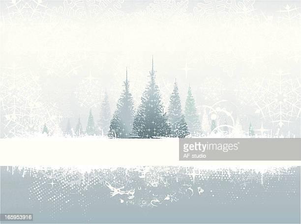 冬のグランジ背景