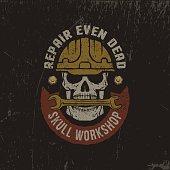 grunge workshop logo