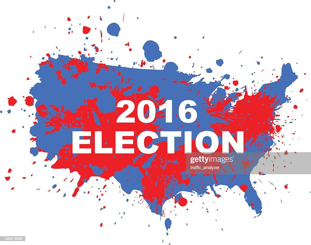 United States Presidential Election Electoral College Map 2016