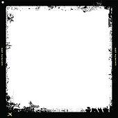 grungy medium format film frame