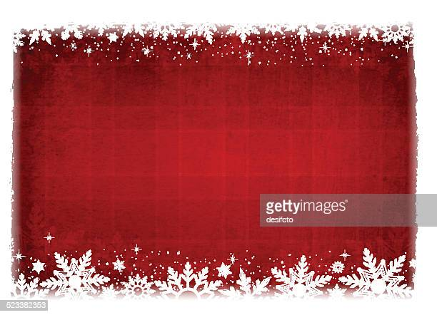 Grungy Vector Christmas Background