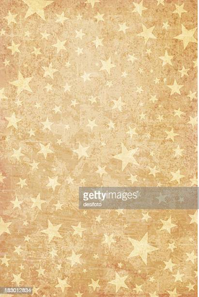 Grungy Vector Starry Background