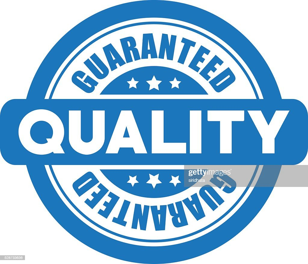 Guaranteed Quality Vector Label