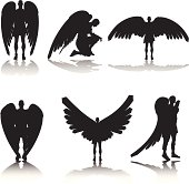 Guardian Angel Silhouette Collection